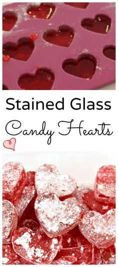 How to Make Heart Shaped Stained Glass Candy