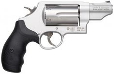"New. Versatile. Lightweight. The Smith & Wesson Governor revolver puts six rounds of customizable response under your control. Load with .410 2 1/2"" shotshells, .45 ACP or .45 Colt - a"