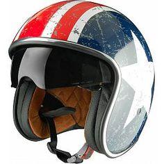 Origine Sprint Rebel Star Jet Helmet - order cheap at FC-Moto Open Face Motorcycle Helmets, Riding Helmets, Jets, Motorbike Clothing, Biker, Cafe Racer Helmet, Vintage Helmet, Star Wars, Cool Motorcycles