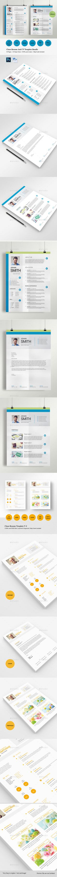 Resume Booklet (8 Pages)   Booklet template, Template and Brochures