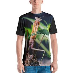 8f9bb5b6e Praying mantis t-shirt, Cannabis tshirt, Gift for Him, Marijuana, Men's t- shirt, Stoner Gift, Cannabis Clothing, Mantis, Boyfriend Gift, 420