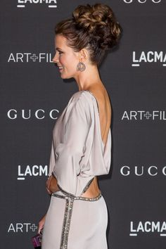 Kate Beckinsale in Gucci at the 2014 LACMA Gala.