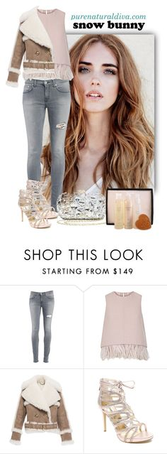 """""""Winter Fun: Snow Bunny Style"""" by purenaturaldiva ❤ liked on Polyvore featuring Dondup, The 2nd Skin Co., Burberry, Bebe, women's clothing, women, female, woman, misses and juniors"""