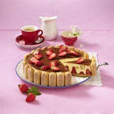 Erdbeer-Tiramisu-Torte Rezept