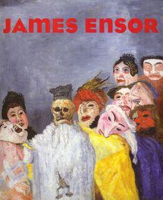 James Ensor,belgian modernist painter of the and Century James Ensor, Chaim Soutine, John Howe, Expressionist Artists, Neo Expressionism, Art Database, Art Moderne, Kandinsky, Oeuvre D'art
