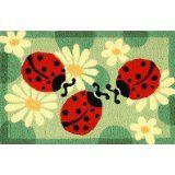 Ladybug Jellbean Rug!