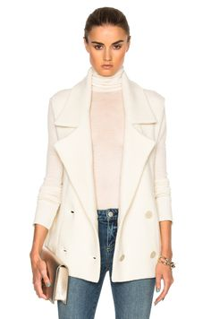 Image 1 of Soyer Notch Collar Vest in Ivory