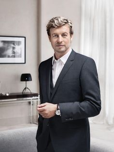 Simon Baker is the Epitome of Elegance in the New Longines Advertising Campaign
