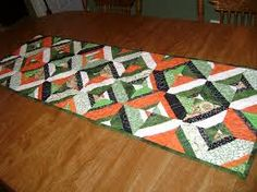 st patty's day quilted table runner - Google Search