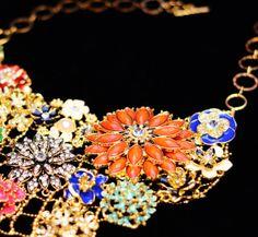 Amrita Singh Jewelry | Dillon Bib Necklace | #details