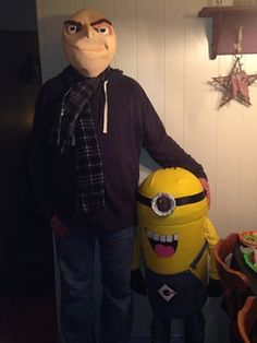 Gru and Minion submitted by Tara Spencer