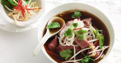 Pho normally takes hours to prepare, but with this speedy version, you can get it on the table in less than 40 minutes.