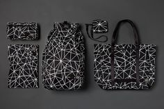 ISAORA x Porter 2013 Geo-Light Bag Collection - Awesome use of shapes. #mens #fashion #women