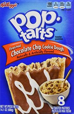Kelloggs Pop Tarts Chocolate Chip Cookie Dough  141 oz -- Want to know more, click on the image.