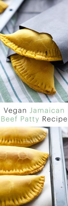This vegan jamaican beef patty is SO authentic tasting that you will never even miss the meat! It's the best vegan recipe this side of the Caribbean
