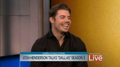 """Josh Henderson stops by to chat about what to expect in the third season of TNT's """"Dallas."""""""