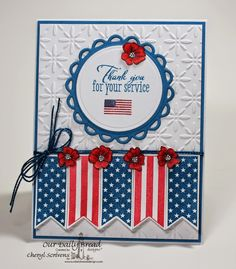 ODBDSLC209 -  Patriotic or Red, White and Blue  Stamps - Our Daily Bread Designs Patriotic Pennants,  Sing to the Lord, ODBD Custom Pennants Die