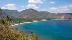 Lombok während der Trockenzeit (Nipah Beach)