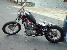 honda rebel 250 bobber | Cool 250 Rebel Bobber...not mine photo Rebel250Bobber1.jpg
