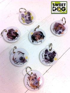 Medagliette personalizzate. Personalized dog tags.