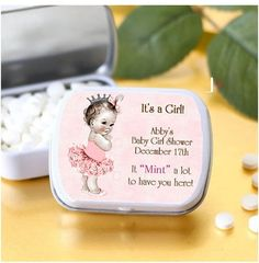 Celebrate your Little Princess , with the perfect favor for your baby shower or children's party ~Rosemary Company