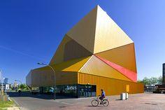 Agora Theatre - Lelystad-Haven, Flevoland, The Netherlands;  photo by Wojtek Gurak, via Flickr