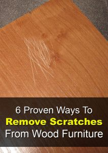 7 ways to remove water & burn marks from your wood furniture