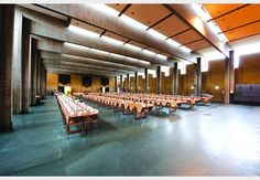 St Catherine's College Dining hall: Arne Jacobsen designed the lighting, cutlery and furniture throughout the dining hall