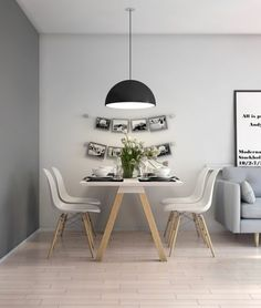 Below are the Scandinavian Dining Room Design Ideas. This post about Scandinavian Dining Room Design Ideas was posted under the … Scandinavian Design Living Room, Minimalist Dining Room, Nordic Living Room, House Interior, Minimalist Living Room, Living Room Scandinavian, Farmhouse Dining Room, Dining Room Small, Farm House Living Room