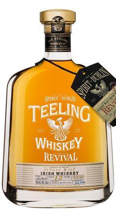 Web Exclusive, Teeling Revival Volume 5 Aged 12 Years at Fairley's Wines Single Malt Irish Whiskey, Aged Whiskey, Scotch Whiskey, Wine Cask, Whiskey Distillery, Whisky Bar, Pot Still, Bourbon Drinks, Lush