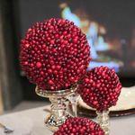 Craft Corner: Cranberry Topiaries #thechew