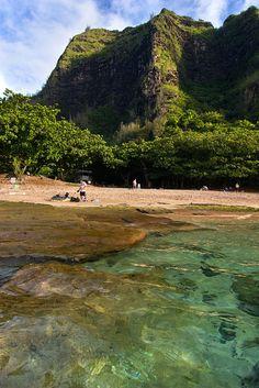 Lagoon at Ke'e Beach - Hawaii