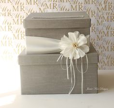 Wedding Card Box. Easy DIY