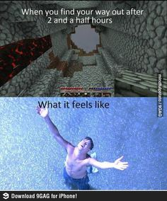Minecraft gamers would know the feeling