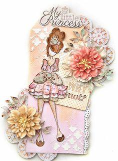 Mindy Doll Tag - Prima Marketing - Scrapbook.com