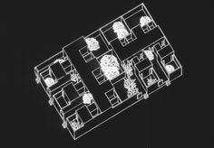 Recipient of the Aga Khan Award for Architecture in Agadir, Axonometric Drawing, Architecture Courtyard, Courtyard House, Photo Wall, Houses, Casas Patio, Environment, 3d