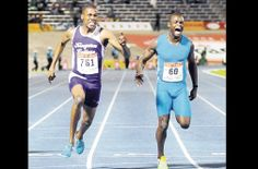 Zharnel Hughes Breaks Yohan Blake's 100m Jamaican High School Record at champs in 10.12
