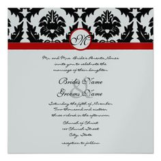 This DealsNew Sizes Black Damask Swirls Wedding Invitationwe are given they also recommend where is the best to buy