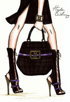 fashionillustr.quenalbertini: Sketch by Hayden Williams