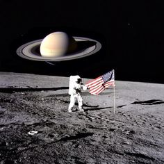 That's gotta be a cool feeling! Walking on the #moon