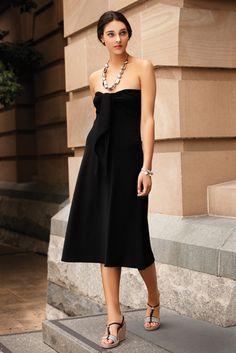 SACHA DRAKE Ultimate Black Dress - Strapless