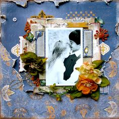 "Sandi Clarkson's Gallery: When leaves are falling ... ""C'est Magnifique"" November Kit"