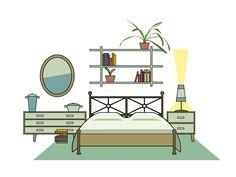 15/15 Perfetto: la regola base è che il tappeto, posizionato sotto il letto, deve sporgere di circa cm 50 sui 3 lati