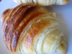 Buttery, flaky croissants. Wow. These are every bit as incredible as I hoped they would be. These were the Daring Bakers challenge in January 2007, which was about six months before I joined. I have been wanting to go back and attempt the challenges that I missed as well as the ones that were difficult …