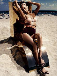 Carolyn Murphy (Murphy's Law) [Vogue Germany, June 2012; photographer: Alexi Lubomirski]