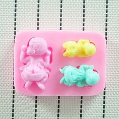 Food grade silicone mold cake decorating tools  by DiyCraftProject #babymold #babyshower #soapmold