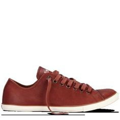 Converse - Chuck Taylor Slim Leather - Low - Burnt Henna - Gosh i want  these! 90d6136ba9