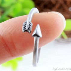 Retro Lucky Arrow Finger Bypass Adjustable Wrap Ring only $9.99 in ByGoods.com!