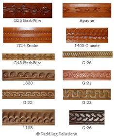 Free Printable Leather Patterns | Leathercraft Pattern