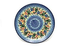 Polish Pottery Plate  Dinner 10 12  Unikat Signature U3099 <3 Detailed information can be found by clicking on the VISIT button
